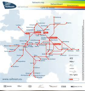 Tgv Route Map by View High Speed Rail Map Of Europe World Europe Pictures