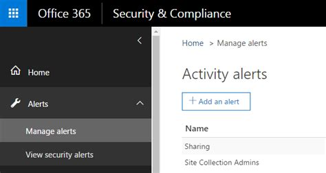 Office 365 Portal Alerts Rene Modery Microsoft Office Servers And Services Mvp