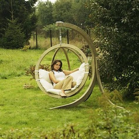 swing in the garden 7 diy interesting outdoor swings