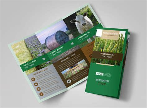 agriculture brochure templates farm consultants brochure template mycreativeshop