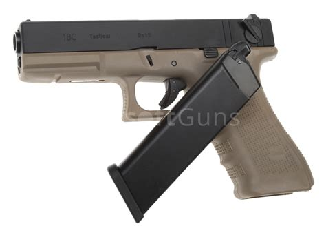 Airsoft Gun Glock 18c glock 18c frame 4 gbb we airsoftguns