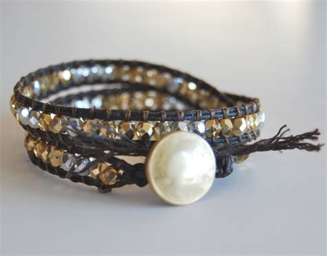 Wrap Bracelet beaded wrap bracelet tutorial make bracelets