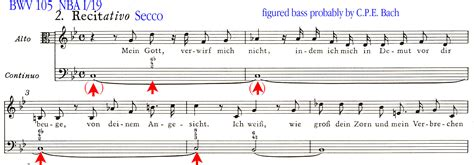 beats insert song synthesia bass vocal continuo in bach s vocal works part 4 exles from the