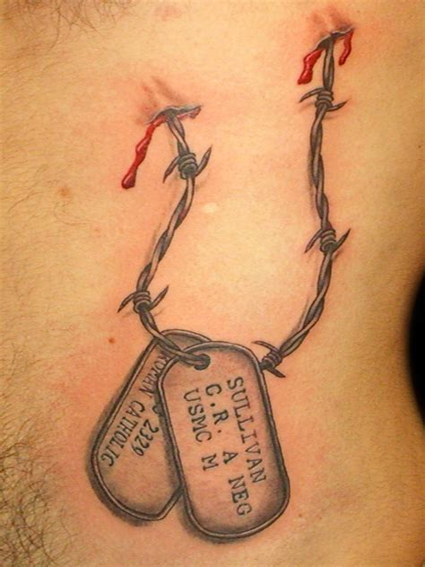 dog tag tattoos tags by tattooeric on deviantart