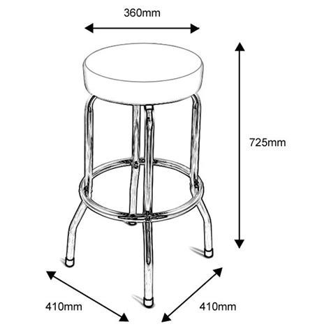 how to measure for bar stools new union jack bar stool kitchen retro breakfast british