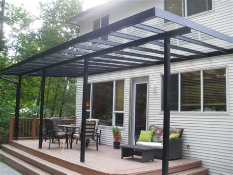metal deck covers awnings patio covers awnings aluminum and glass home design