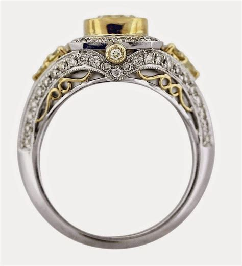 2018 popular wedding rings settings without center