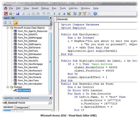 access conectando nuestra aplicaci 243 n a bases de datos