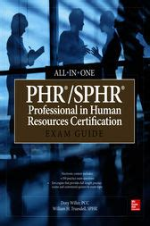 phr sphr professional in human resources certification study guide phr sphr professional in human resources certification all