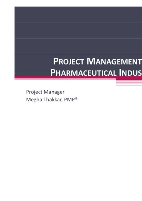 Mba In Pharmaceutical Management Rutgers Linkedin by Project Management In Pharmaceutical Industry