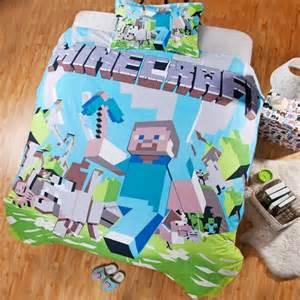 Minecraft bedding double glamour kids
