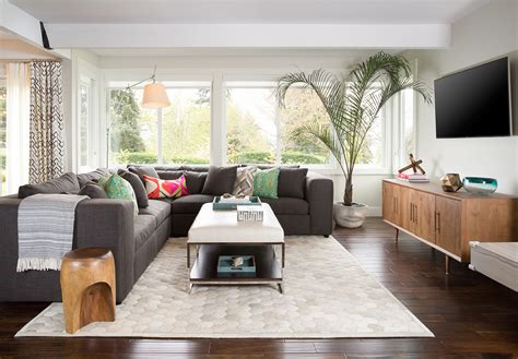 modern great room personalized livable style pulp