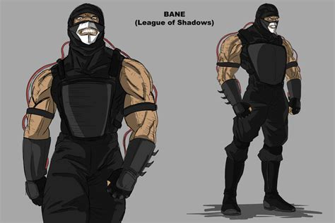 Kaos Anime Armour Batman bane with shirt armor by darknight7 on deviantart