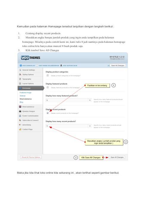 membuat toko online menggunakan woo commerce cara membuat toko online menggunakan woo commerce