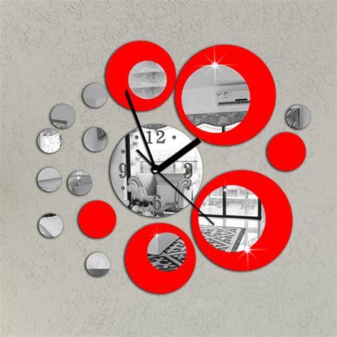 horloge d馗orative cuisine six d 233 cos cuisine horloge pour r 234 ver