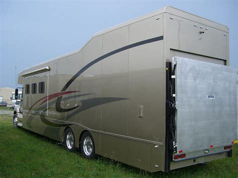 Motorhomes With Garages by Graphics