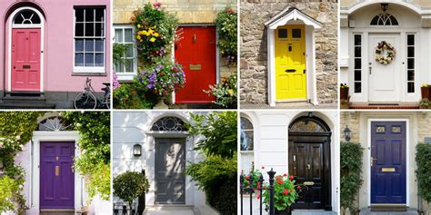 front door colours uk what does your front door colour say about you