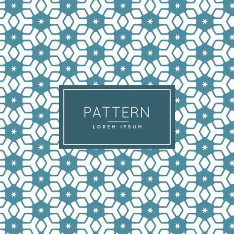 pattern password star hexagons and stars pattern vector free download