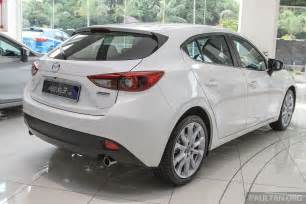 mazda 3 ckd launched in malaysia rm106k 121k