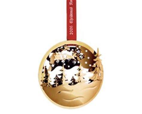 amazon com georg jensen golden christmas ornament 2006