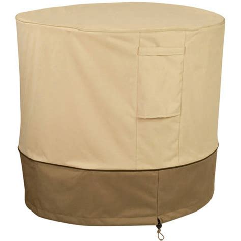 outdoor air conditioner cover walmart classic accessories veranda round patio air conditioner
