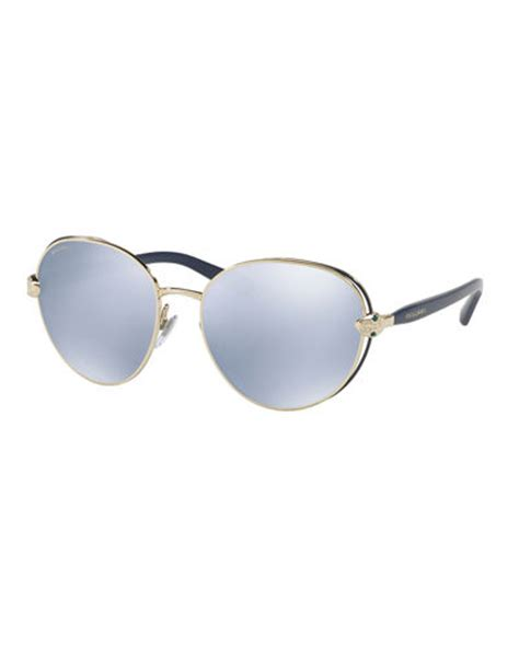 Kacamata Sunglass Wanita Bvlgari Flat palm flat top watermelon sunglasses