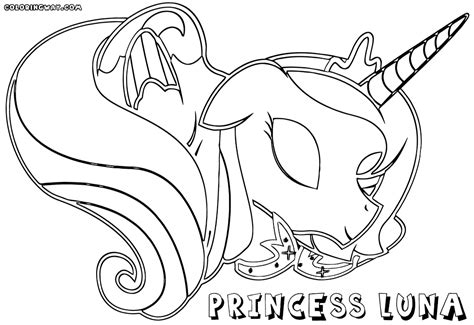 luna girl coloring page princess luna coloring pages coloring pages to download