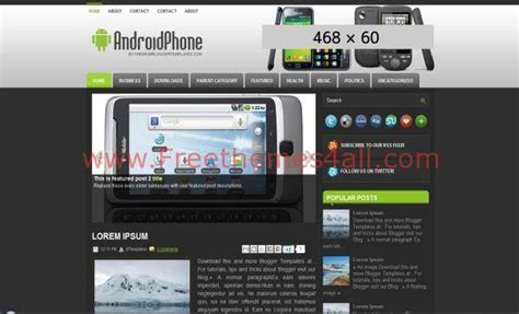 templates android blogger gray android blogger template download