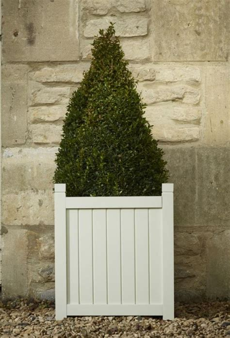 Versailles Planters by Hardwood Square Versailles Planter In Grey W44cm X