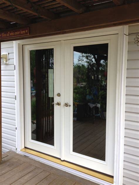 Therma Tru Patio Doors Therma Tru Patio Doors With Screens Modern Patio Outdoor