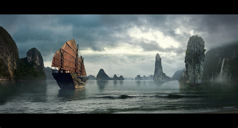 matte painting in beat reichenbach matte painting