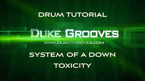 Drum Tutorial Toxicity | system of a down toxicity image duke s drum lessons