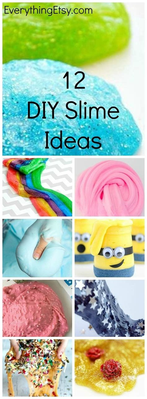 25 best ideas about diy slime on