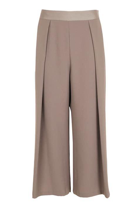 Wide Leg Trouser crop wide leg trousers topshop