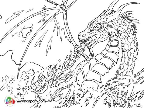 coloring pictures of dragons breathing fire coloring pages dragon breathing fire murderthestout