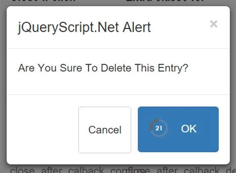 jquery tutorial alert bootstrap alert confirm modal plugin with jquery free