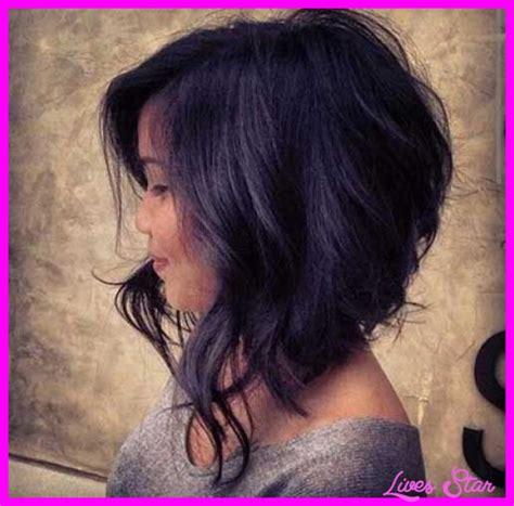 Asymmetrical A Line Haircut   LivesStar.Com