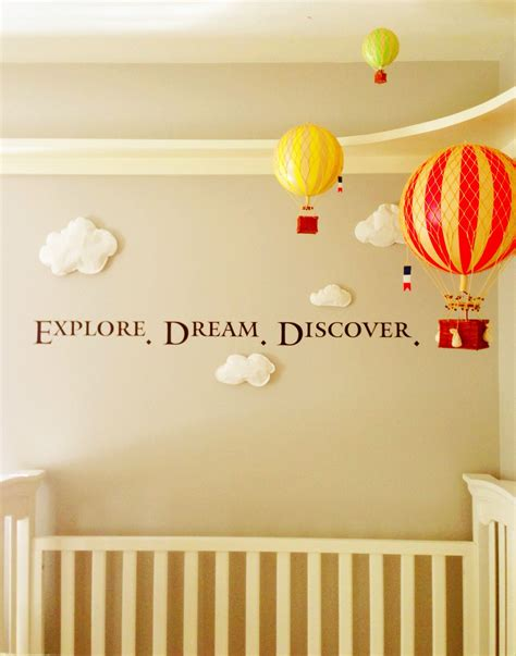 air balloon decorations nursery thenurseries