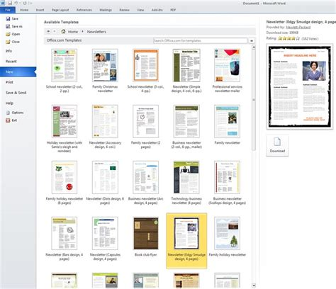 Where Can You Find A Microsoft Template Search Microsoft Templates