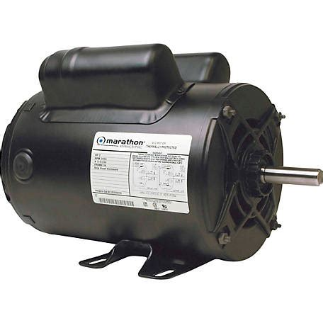 marathon electric air compressor motor 2 hp at tractor supply co