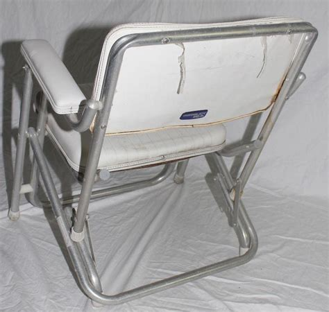 boat deck chairs purchase garelick mariner boat deck chair folding seat