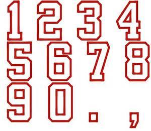 College Varsity Letter Font 13 Varsity Outline Font For Numbers Images Varsity Number Font Block Letter Embroidery Font