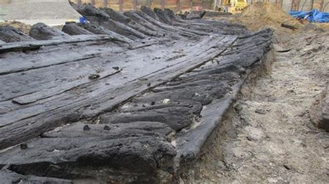 preserved wood basement remnants of 18th century ship may provide clues to