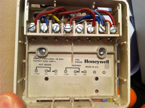 wiring diagram central heating programmer central heating