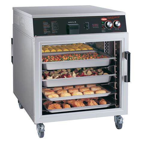 electric food holding cabinet hatco fshc 6w1 mobile heated holding cabinet w 6 pan