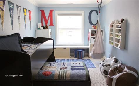 12 year room ideas boring to bold boys sports themed bedroom repeat crafter me