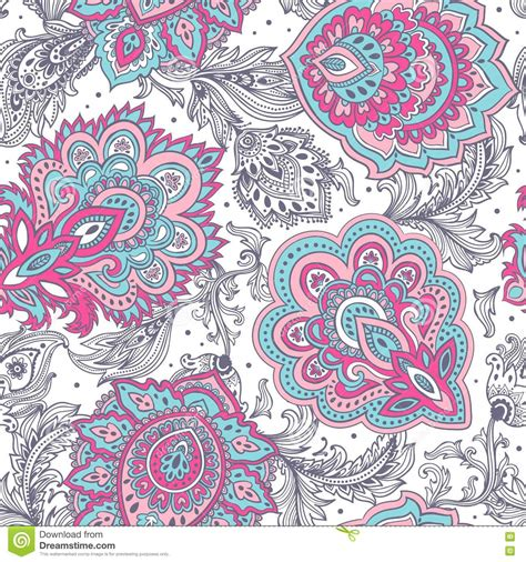 tattoo printer price in india beautiful indian floral paisley seamless ornament print