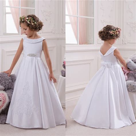 Princes Dress By Alila 5 Warna 4 2017 new cheap flower dresses for weddings bateau a