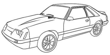 mustang coloring pages free coloring pages of 11 mustang