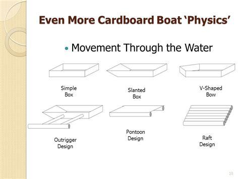 cardboard boat best design cardboard boat building basics what floats your cardboard